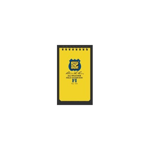 All-Weather Field Interview Notebook - Rite in the Rain - 104 [Misc.]