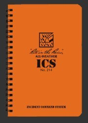 Rite in the Rain All Weather Incident Command Notebook [Office Product]