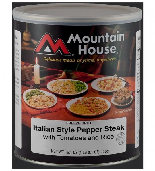 Italian Style Pepper Steak with Rice