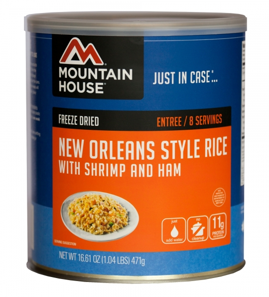 New Orleans Rice with Shrimp & Ham