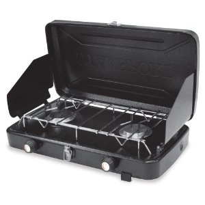 Stansport 2 Burner Regulated Propane Stove (10,000 BTUs) [Lawn & Patio]