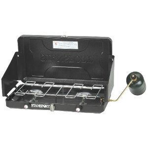 Stansport Two Burner Regulated Propane Stove [Sports]