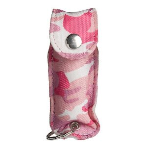 SABRE Pepper Spray with Key Ring (Pink Camo)
