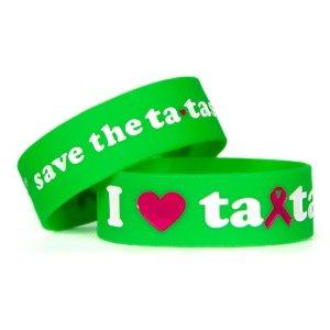 save the ta-tas 'I Love ta-tas' Green Bracelet [Misc.]