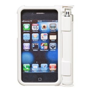 SABRE Red SmartGuard Pepper Spray Case for iPhone 3, White