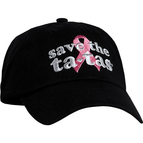 save the ta-tas Cap - Black [Misc.]
