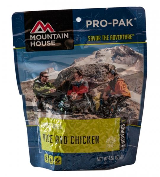 Rice & Chicken - PRO-PAK - Case (6 Pouches)