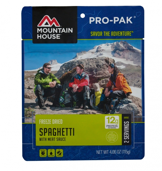 Spaghetti with Meat Sauce - PRO-PAK - Case (6 Pouches)