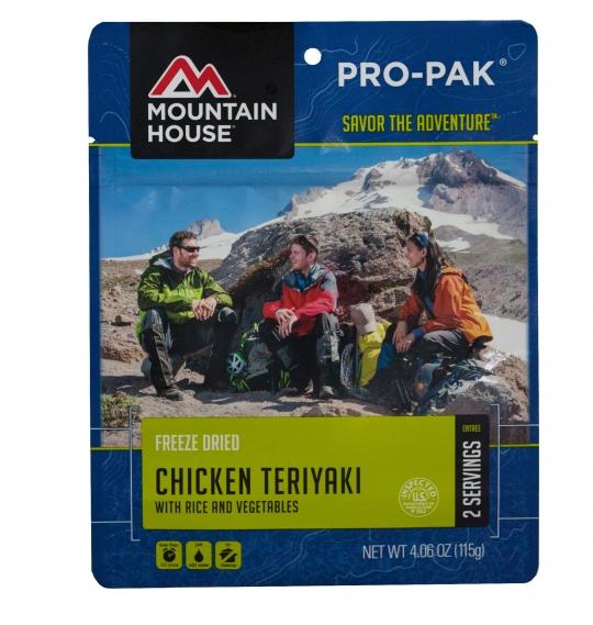 Chicken Teriyaki with Rice - PRO-PAK