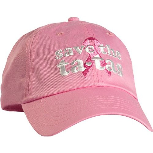 save the ta-tas Cap - Pink [Misc.]