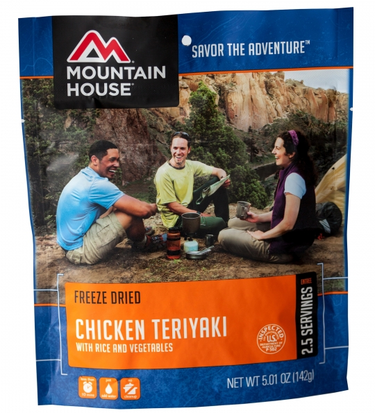 Chicken Teriyaki with Rice - Case (6 Pouches)