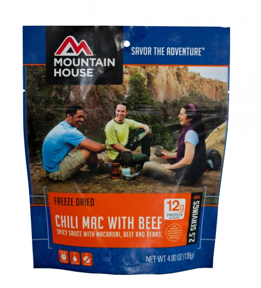 Chili Mac with Beef - Case (6 Pouches)