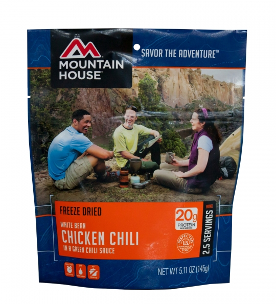 Chicken and White Bean Chili - Case (6 Pouches)