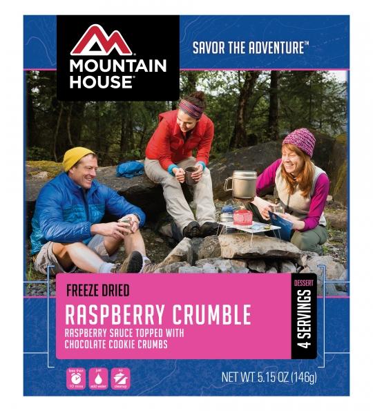 Raspberry Crumble - Case (6 Pouches)