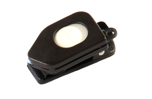 White LED Flashlight Microclip