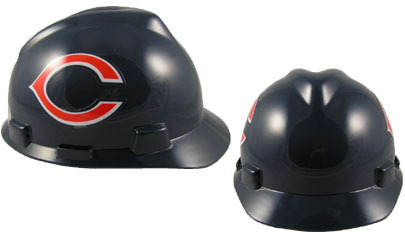 Chicago Bears - MSA - NFL Team Logo Hard Hat