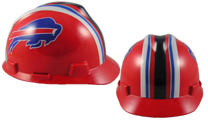 Buffalo Bills - MSA - NFL Team Logo Hard Hat