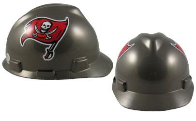 Tampa Bay Buccaneers - MSA - NFL Team Logo Hard Hat
