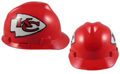 Kansas City Chiefs - MSA - NFL Team Logo Hard Hat