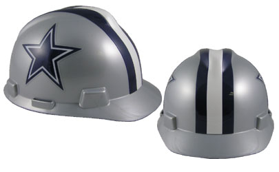 Dallas Cowboys - MSA - NFL Team Logo Hard Hat