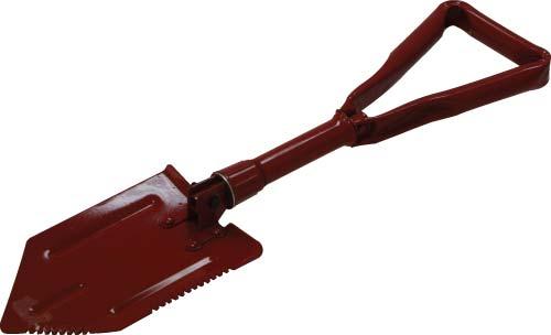 Red Foldable Shovel