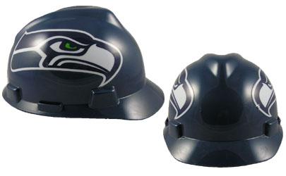Seattle Seahawks - MSA - NFL Team Logo Hard Hat