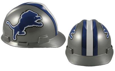 Detroit Lions - MSA - NFL Team Logo Hard Hat