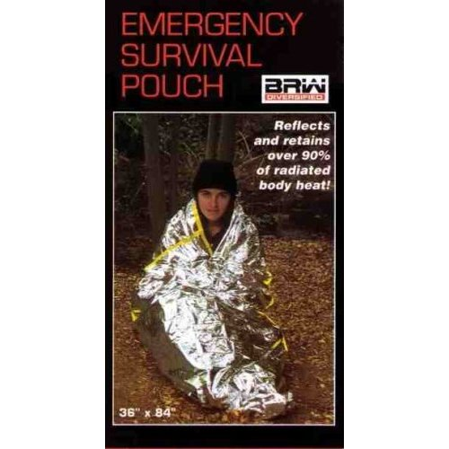 Emergency Mylar Survival Sleeping Bags - Pack of 4 Bags. SSB-4 [Misc.]