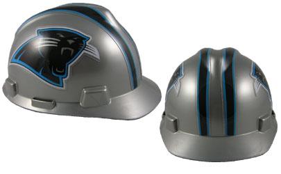 carolina panthers msa nfl team logo hard hat nfl safety helmets nfl