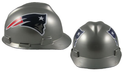New England Patriots - MSA - NFL Team Logo Hard Hat