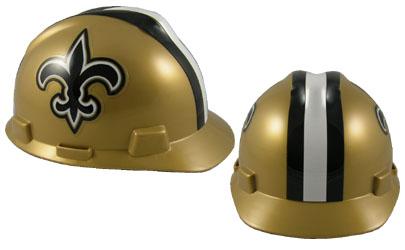New Orleans Saints - MSA - NFL Team Logo Hard Hat