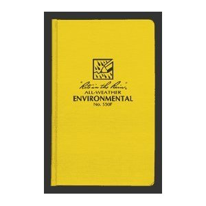 "Environmental Bound Book Fab Cover 4 3/4"" x 7 1/2"" [Misc.]"