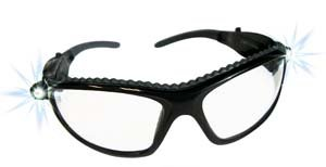SAS Safety 5420-50 LED Inspectors Safety Glasses [Tools & Home Improvement]