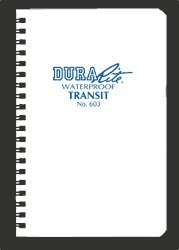 Rite in the Rain DuraRite WATERPROOF Notebook - 603 [Office Product]