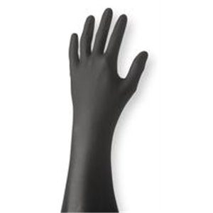 Best Nighthawk 7700PFT Black Nitrile glove bx/50 gloves Extra Large [Misc.]