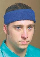 Size Fits All Navy Terry Toppers Headband [Misc.]