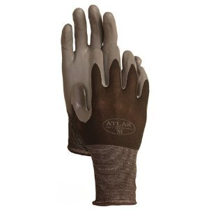 4 Pack Atlas Glove 370BBK Atlas Nitrile Tough Gloves - Medium [Misc.]