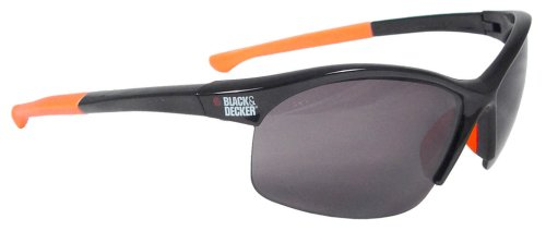 Black and Decker BD220-2C High Performance Safety Eyewear with Adjustable Tem...