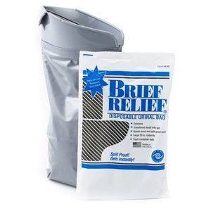 Men and Women Brief Relief Disposable Urinal Bag [Misc.]