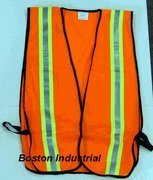 High Visibility Orange Safety Vest [Misc.]