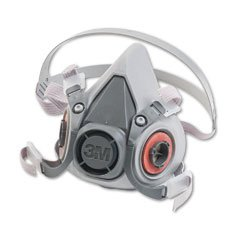 3M Half Facepiece Respirator 6000 Series, Reusable, Medium [Office Product]