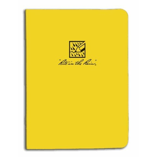 "Rite In The Rain Ring Binder - 1/2"" - Yellow #200 [Misc.]"