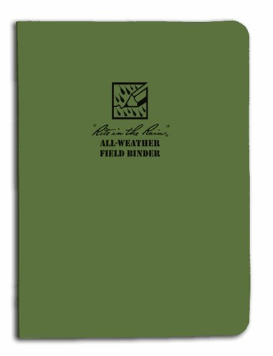 "Rite in the Rain Tactical Field Ring Binder - Green (5 5/8"" x 7 1/2"")"