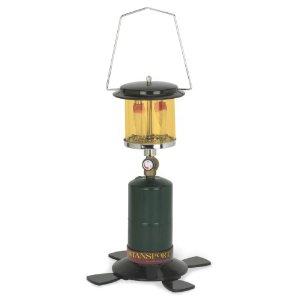 Stansport 2 Mantle Propane Lantern with Amber Glass Globe [Sports]
