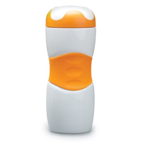 Stansport Stainless Double Wall Bottle (Orange, 14-Ounce) [Sports]