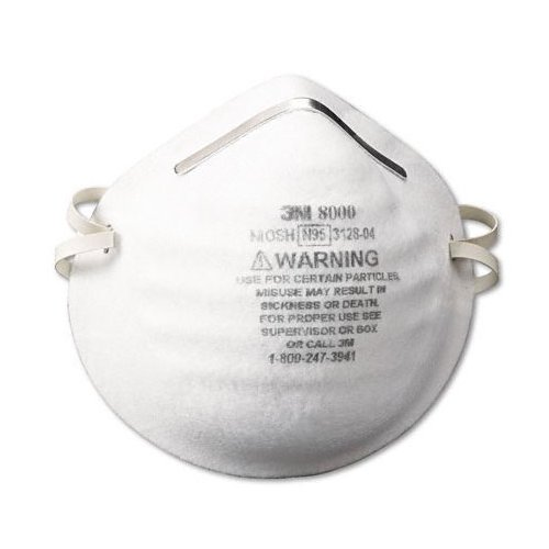 3M 8000 Particle Respirator N95, 30-Pack [Tools & Home Improvement]
