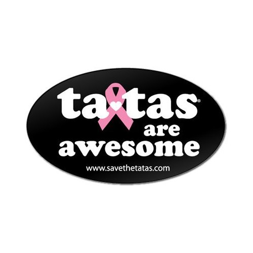 ta-tas are Awesome Bumper Magnet - Black [Misc.]