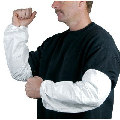 "Tyvek Sleeves - tyvek sleeve 18"" elasticwrist & top [Misc.]"