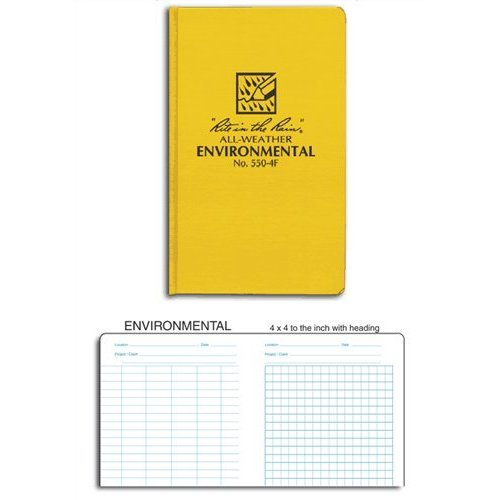 Rite in the Rain 550-4F Environmental Pocket Size Bound Book [Misc.]