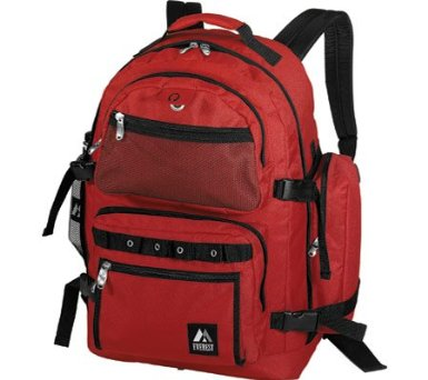 Everest Oversize Deluxe Backpack 3045R Backpacks,Black [Misc.]